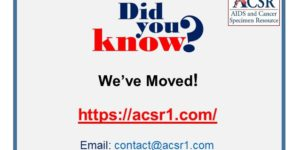 We've got a new url and email address! COME VISIT. https://acsr1.com/ email: contact@acsr1.com